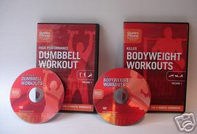 dumbbell & bodyweight workouts
