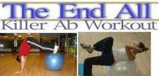 home ab exercise workout